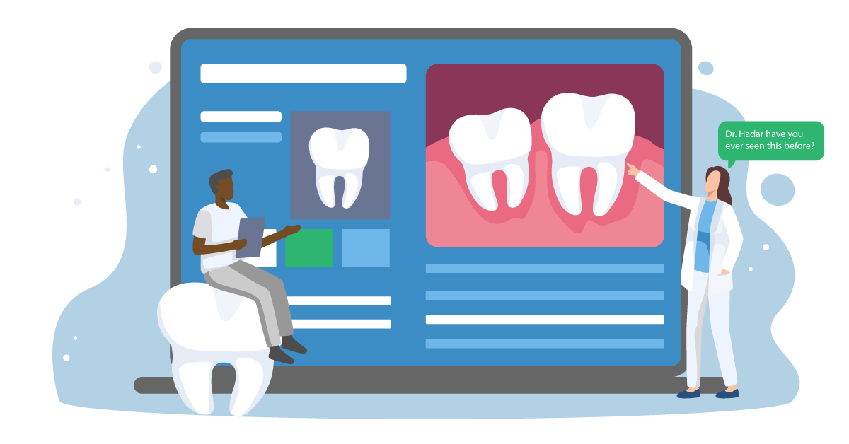 Virtual Mentoring, Collaboration, and More Are Possible with Teledentistry